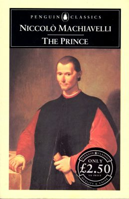 And a short book wins by a mile - Niccolo Machiavelli's The Prince